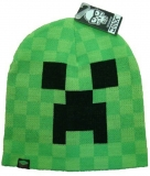 Zimná čapica Minecraft Creeper Face vel. 54/56
