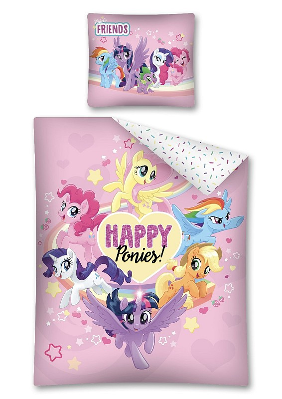 Obliečky My Little Pony Happy