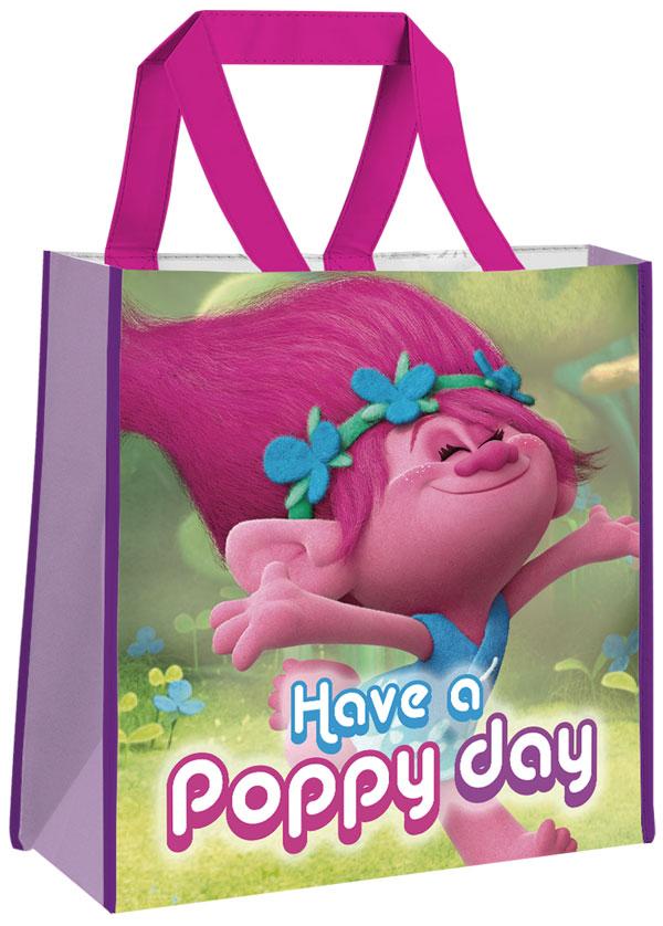 e0741fb925 Detská nákupná taška Trollovia Poppy