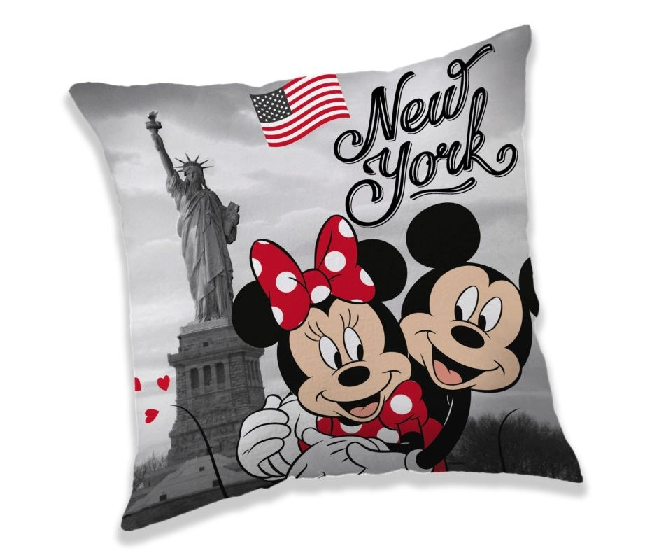 Vankúšik Mickey a Minnie New York