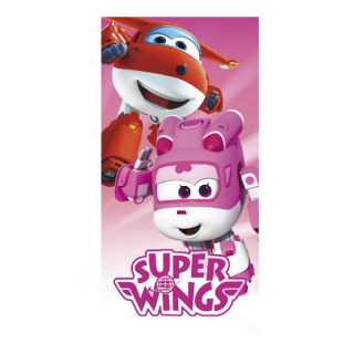 Osuška Super Wings pink 70/140 cm