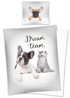 Obliečky Sweet Animals Dream Team