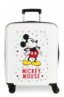 ABS Cestovný kufor Mickey Style letras 55 cm