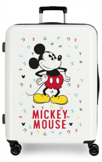ABS Cestovný kufor Mickey Style letras 70 cm