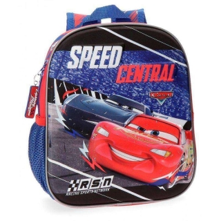 Junior batoh Cars Central 3D 25 cm