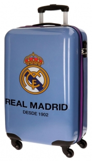 Cestovný kufor ABS Real Madrid One color one club blue 55 cm