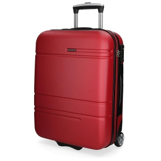 ABS Cestovný kufor MOVOM Galaxy Red 55 cm