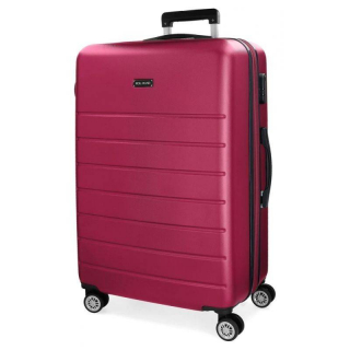 ABS Cestovný kufor Roll Road Magazine Fuchsia 76 cm