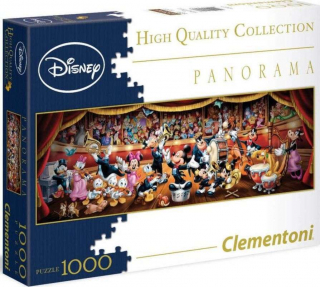 Panoramatické puzzle Disney orchester 1000 dielov