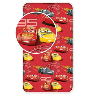 Plachta Cars red 3 90/200