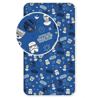 Plachta Star Wars blue galaxy