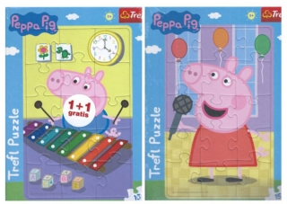 Puzzle Peppa Pig  a George 2v1