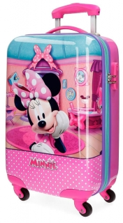ABS cestovný kufor Minnie Smile 55 cm