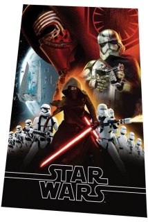 Fleece deka Star Wars VII 100/150 cm
